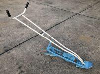 吉徳農機株式会社 手押し溝切機 ドレインプラウ 水田 水抜き 中干し を買い取りました!
