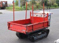 アテックス atex 運搬車 クローラー型運搬車 XL405 手動ダンプ 最大積載量350kgを買い取りました!