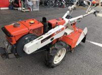 クボタ kubota K75 ディーゼル 7.5馬力 セル付き 管理機 耕運機 を買い取りました!