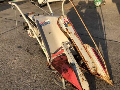 ミツビシ MITSUBISHI 動力刈取機 バインダー MB30D あきばれ 1条刈り 1輪タイヤ を買い取りました!