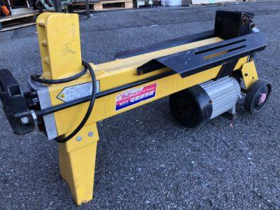 電動薪割機 LS4T-52 4トン 油圧式 ZYWT 1300W ProQ-Gear HPower を買い取りました!