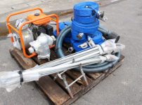 スプリンクラーセット 工進 KOSHIN SER-40 エンジンポンプ スプリンクラー 6本 ホースたくさんを買い取りました!
