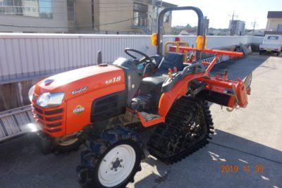 KUBOTA クボタ KB18 トラクター 316時間 セミクローラー パワクロを買い取りました!