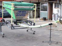 タイショー レザーコンテナ FB-10S エコノ ホース3m 三相200V キャスター付 籾 搬送を買取ました!