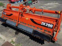 クボタ KUBOTA ロータリー ZK200 KUM キャスター付きを買取ました!