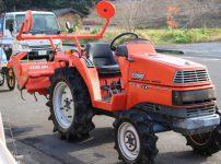 クボタ KUBOTA トラクター X-20 SATURN 1046時間 20馬力 4WDを買取ました!