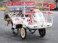 ヤンマー 5条植え 田植機 VP5C ロータリ式 ナイスティUFO 12馬力 セル式 自動水平 施肥機 現状品を買取ました!