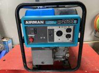 AIRMAN CYCLO CONVERTER HP2600c 発電機 を買取ました!