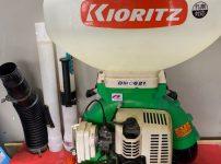 共立 KIORITZ DMC621 エンジン式 動噴 背負式 噴霧器 動力噴霧器 背負噴霧器 農薬散布 散布 を買取ました!