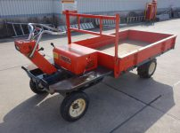 筑水キャニコム 運搬車 4輪運搬車 GH220 乗用型 最大作業能力 500kgを買取ました!