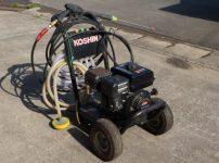 工進 KOSHIN エンジン式 高圧洗浄機 JCE-1408DX ガン/ホース付きを買取ました!