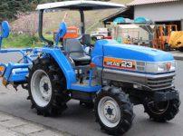 イセキ トラクター TG23F-UVWXO6 496時間 23馬力 GEAS ジアス パワステ 4WD 自動深耕 自動水平 正逆を買取ました!
