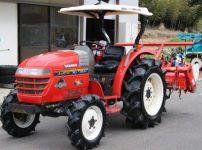 ヤンマー トラクター エコトラ RS-300 894時間 4WD ルーフ付きを買取ました!