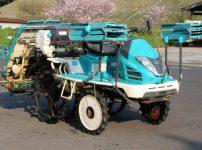 クボタ 田植機 ZP67 RACWELα 746時間 施肥機 箱まきちゃん ロータリーを買取ました!
