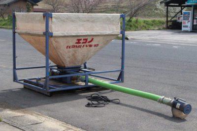 タイショー レザーコンテナ FVS-10S 三相200V ホース約3m 軽トラ用 籾 運搬 エコノホースタイプ レザコンを買取ました!