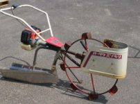 オータケ 水田溝切機 KF22 手押し式 溝切り機 歩行型 水田を買取ました!