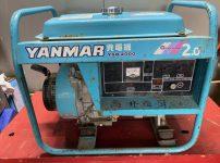 ヤンマー YANMAR 発電機 YSG2000 040-120を買取ました!