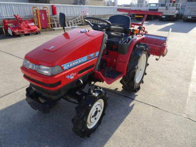 ヤンマー YANMAR トラクター Ke-4 776時間 14馬力0を買取ました!