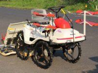 ヤンマー 乗用型田植機 Pe-1 4条植 リコイル クランク式を買取ました!