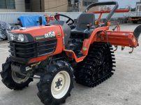 クボタ GB150 トラクター アワメーター 247時間 自動水平 PTO正逆 セミクロ パワクロ クローラー を買取ました!