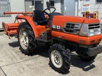 クボタ GL-23 トラクター 1689時間 PTO逆転 バックアップ モンロ 自動水平 スーパー倍速ターン を買取ました!