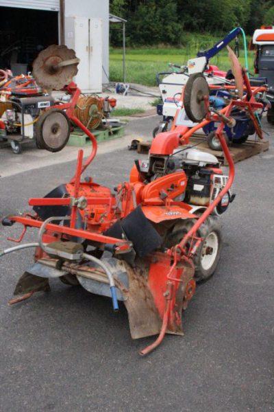 クボタ マルチ 管理機 T1-100W グッディー 甘藷 里芋 畝立て機 耕運機 中耕ロータリーを買取ました!