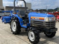 イセキ TF223F-UQ トラクター 760時間 シアル223 自動水平&深耕 IQターン PTO逆転 説明書あり を買取ました!