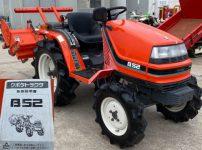 クボタ B52 トラクター 406時間 取説付き 自動水平 15馬力 を買取ました!