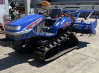 イセキ TPC213 トラクターTPC213-CQXZP1 ピッコロ フルクローラ 21馬力 546時間 自動水平 PTO逆転 を買取ました!