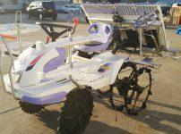三菱 田植機 LC40 D 4条植 クランク リコイルスタート 補助輪付き 無段変速 クボタ EP4 を買取ました!