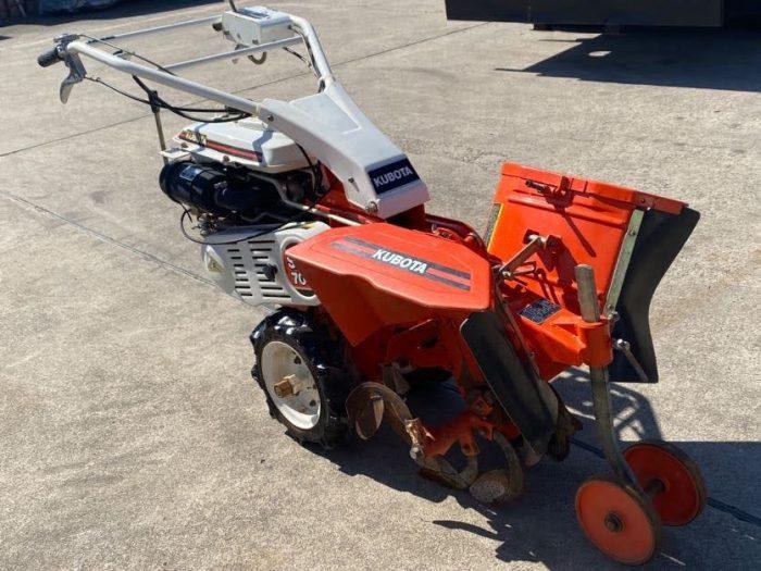 クボタ SX700 耕運機 畝管理機 耕運機 を買取ました!