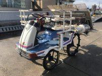 イセキ 田植機 サナエ lovely53 PA50D PA53D-FW 5条 施肥付き を買取ました!