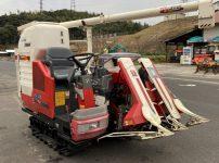 ヤンマー 2条刈り コンバイン GC218G 413時間 丸ハンドル グレンタンク を買取ました!