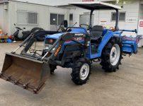 イセキ TK25F UKDXZP トラクター 25馬力 ミニローダー付き バックアップ 自動水平 4WDを買取ました!