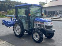 イセキ トラクター TH22-QCY パワステ 逆転PTO 22馬力 キャビン付きを買取ました!