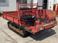カワシマ 油圧ダンプ 運搬車 EC1200D 最大積載量500kgを買取ました!