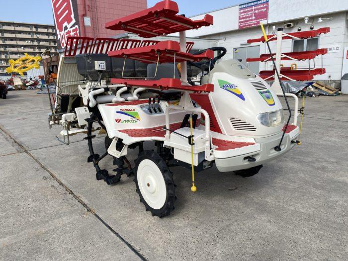 ヤンマー VP6C 田植機 施肥付き イノベーター付き 取説付きを買取ました!