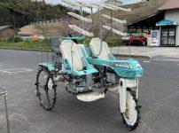 みのる式 乗用田植え機 RXD4 4条植え 3輪田植機を買取ました!