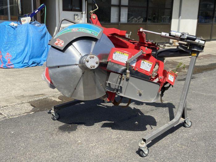 ニプロ あぜぬり機 CZR350E-B リバース 電動 リモコン トラクター 作業機を買取ました!