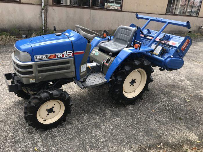 イセキ トラクター TM15F-DXZ 549時間 4WD 自動水平 逆転PTOを買取ました!