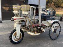 みのる LR-4 LRM4 乗用田植機 ポット植え 条間33cm 側条施肥機付きを買取ました!