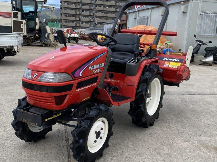 ヤンマー トラクター Ke-50 4WD 自動水平 安全フレームを買取ました!