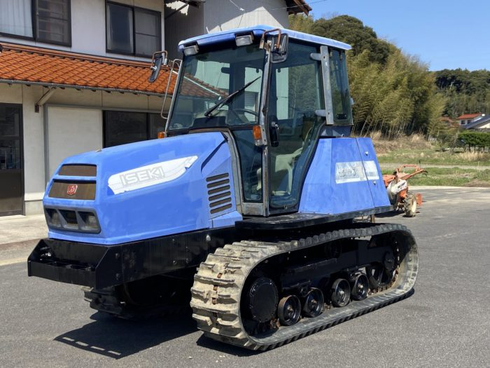 イセキ トラクター TAC75 フルクローラ 三菱 MKM75 OEMを買取ました!