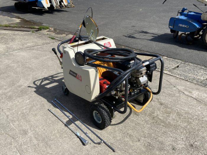 丸山 動力噴霧器 GKSL3301-M GKS3301 2.8馬力 自走式 セット動噴 リコイル 走行クラッチを買取ました!
