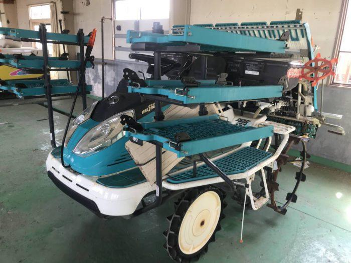 クボタ NUS55 FR 田植機 箱まきちゃん 温風ドライ施肥機を買取ました!
