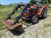 クボタ GL261 トラクター フロントローダーを買取ました!